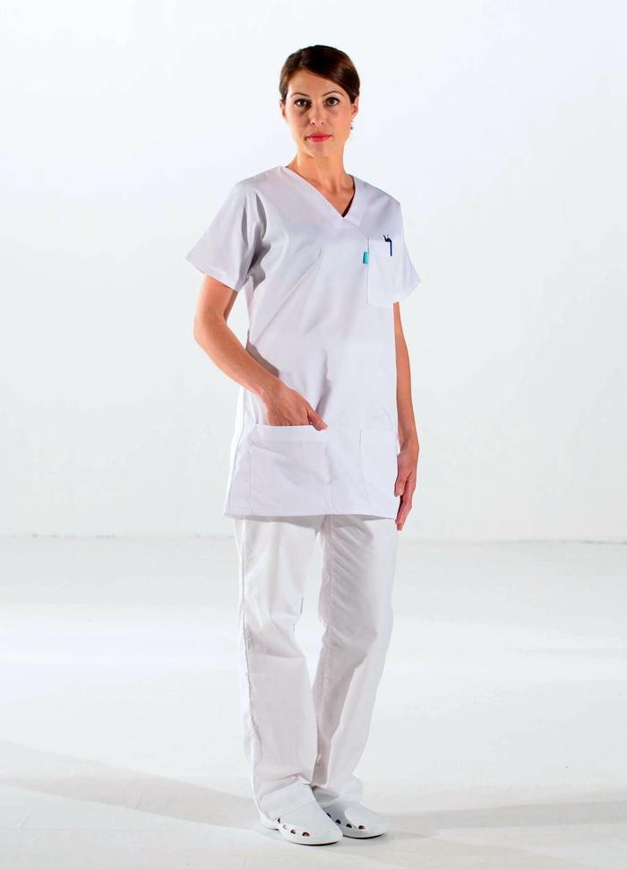 blouse blanche santé